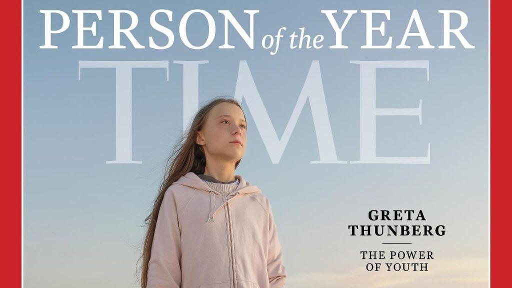 Greta Thunberg, Aktivis Remaja Asal Swedia Jadi TIME Person of the Year 2019