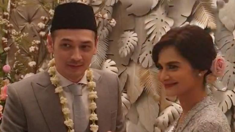 Momen pernikahan Cut Tari dan Richard Kevin Foto: Dok. Instagram