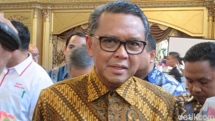 Foto: Noval Dhwinuari Antony-detikcom/Gubernur Sulsel Nurdin Abdullah
