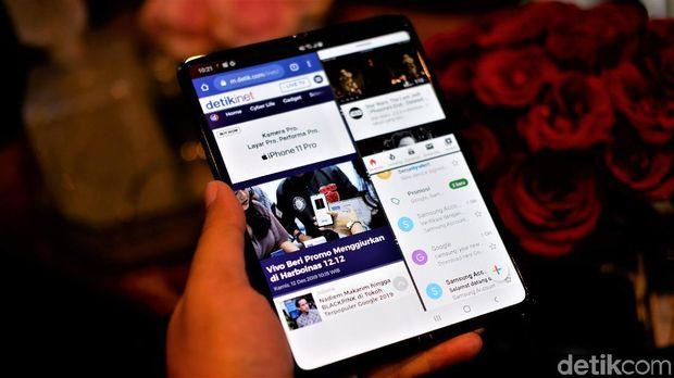 Resmi Dirilis, Ini Spesifikasi dan Harga Galaxy Fold di Indonesia