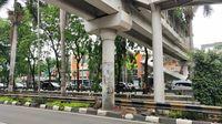 Lokasi soil testing LRT Jakarta di Kawasan Sunter