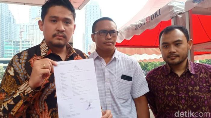 Putra Alex Kumara dilaporkan ke Polda Metro Jaya (Foto: Samsudhuha Wildansyah/detikcom)