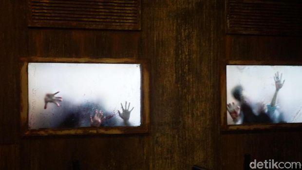 Berburu Zombie ala 'Walking Dead' di Trans Studio Bali