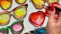 Cantik dan Manis, Seni Ukir Ini Terbuat dari Permen Karamel