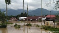 Banjir Kembali Landa Solok Selatan, 9 Rumah Hanyut Tersapu Air