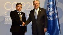 Bertemu Sekjen PBB di Sela COP25, Indonesia Tegaskan Siap Transisi Energi