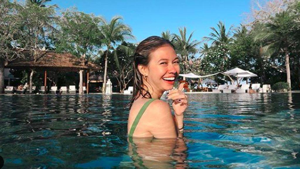 Potret Liburan Akhir Tahun ala Yuki Kato: Staycation di Bali