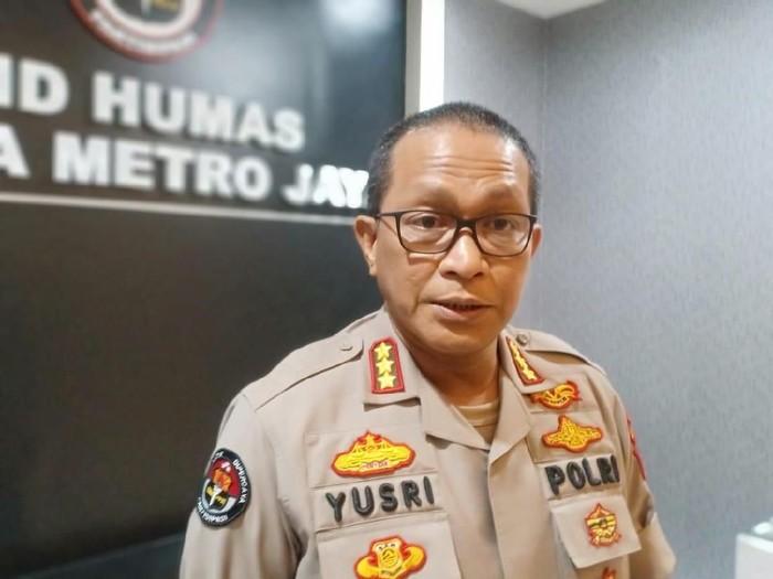 Kabid Humas Polda Metro Jaya, Kombes Yusri Yunus  (Samsdhuha Wildansyah-detikcom)