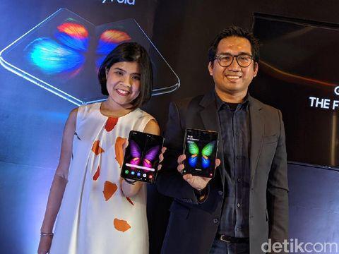 Dibanderol Rp 30 Juta, Ponsel Sultan Galaxy Fold Ludes Dipesan