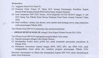 DPP PAN Rekomendasikan Mumtaz Rais Jadi Calon Bupati Sleman