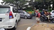 Video Aksi Polisi Razia Pak Ogah Jalanan di Makassar