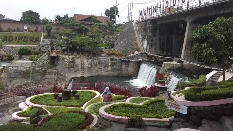 Taman Seribu Cinta di Muntilan, Magelang. (Eko Susanto/detikcom)