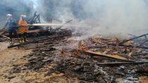 Pondok Pesantren Tradisional di Serang Ludes Terbakar