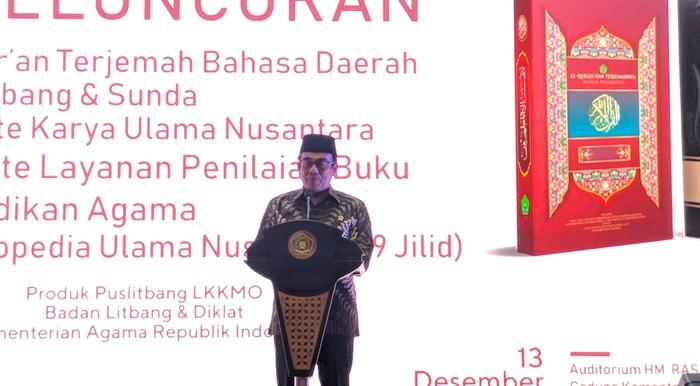 Foto: Menteri Agama Fachrul Razi (Jefrie-detikcom)