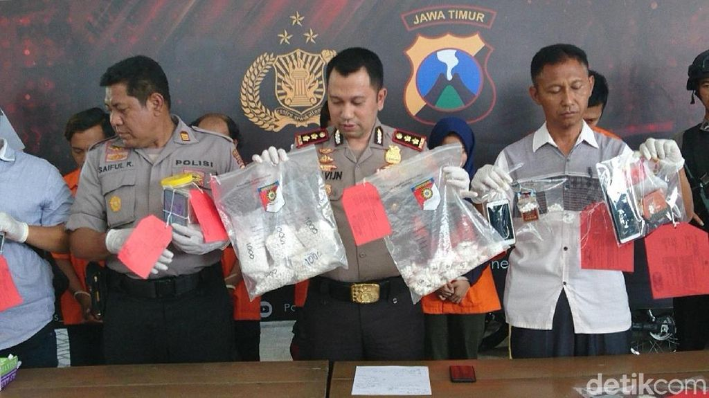 Jelang Tahun Baru, Polisi Trenggalek Amankan 7.000 Butir Pil Koplo