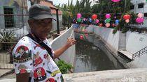 Cerita Warga Lihat Piton 5 Meter di Kali Pepe Dekat Balkot Solo
