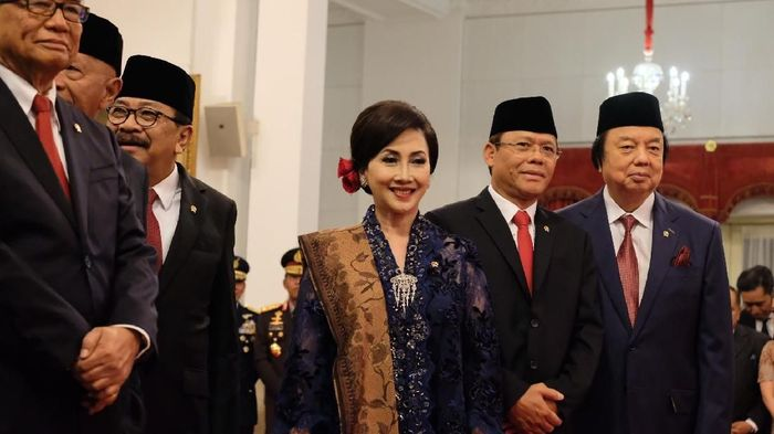 Foto: Wantimpres Jokowi. (Andhika Prasetia/detikcom).