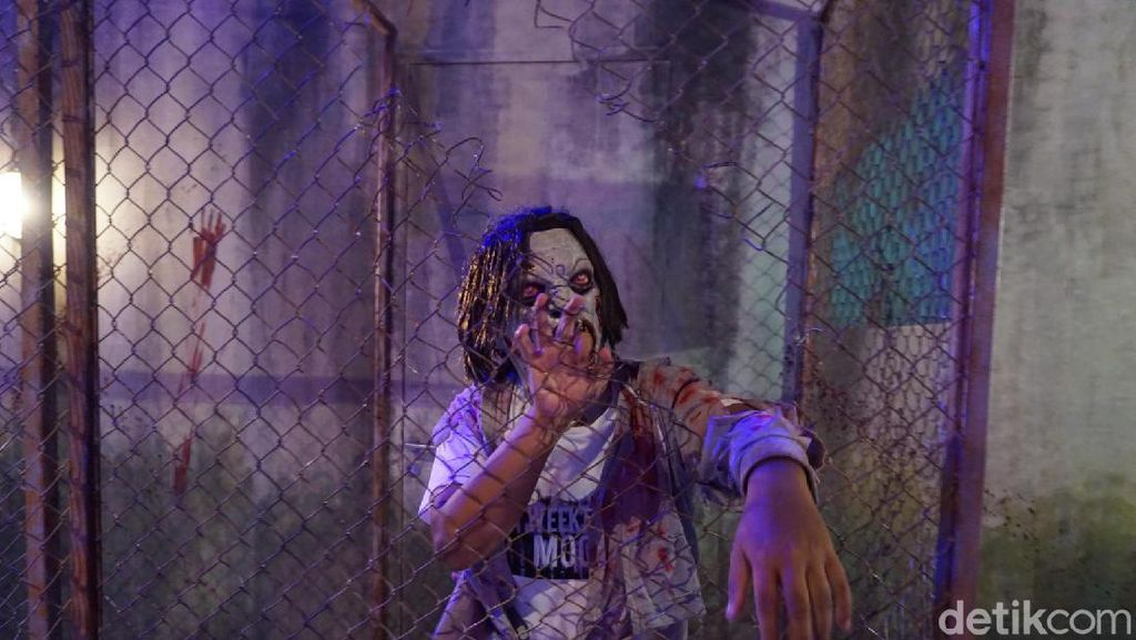 Di Trans Studio Bali Bisa Berburu Zombie ala Walking Dead