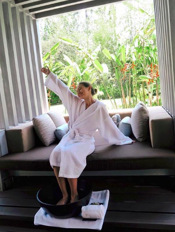 Bersantai sembari menikmati spa Bali bisa nih! (yukikt/Instagram)