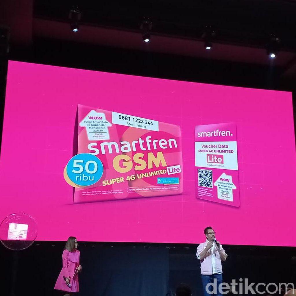 Smartfren Kembali Luncurkan Paket Unlimited Full 4G