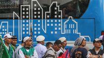 Video Massa Demo Sukmawati dan Gus Muwafiq Geruduk Mabes Polri