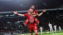 Persija Selamat dari Degradasi Berkat Tiga Gol Penalti