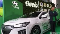 Target Grab 500 Mobil Listrik Bakal Jadi Taksi Online