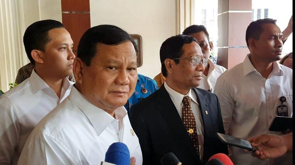 Cyrus Network Rilis Survei, Prabowo Jadi Capres Terkuat 2024