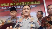 Komjen Firli Akan Jadi Ketua KPK, Ini Pesan untuk Penggantinya di Baharkam