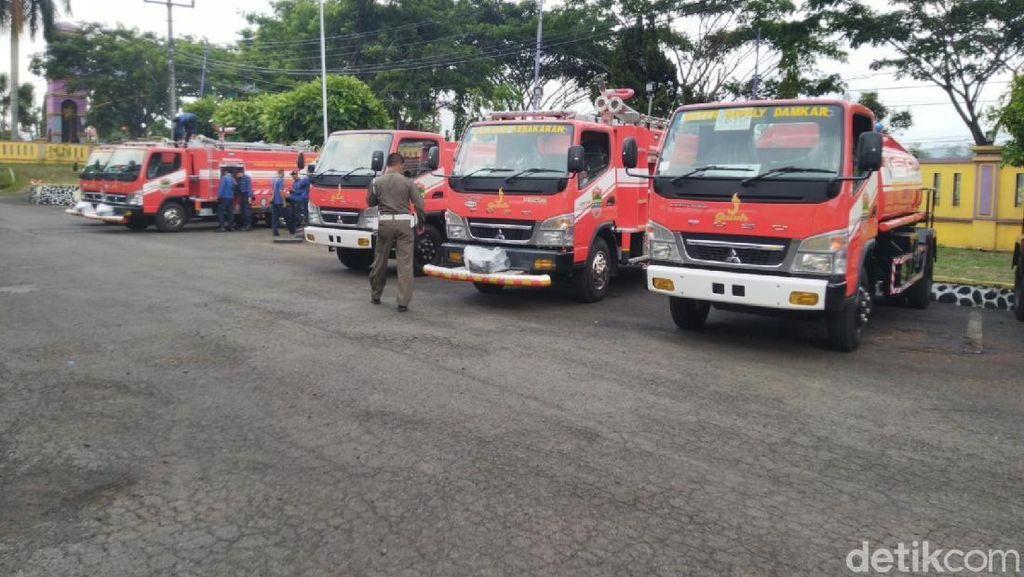 Sering Terlambat Saat Kebakaran, Damkar Ciamis Tambah 6 Armada