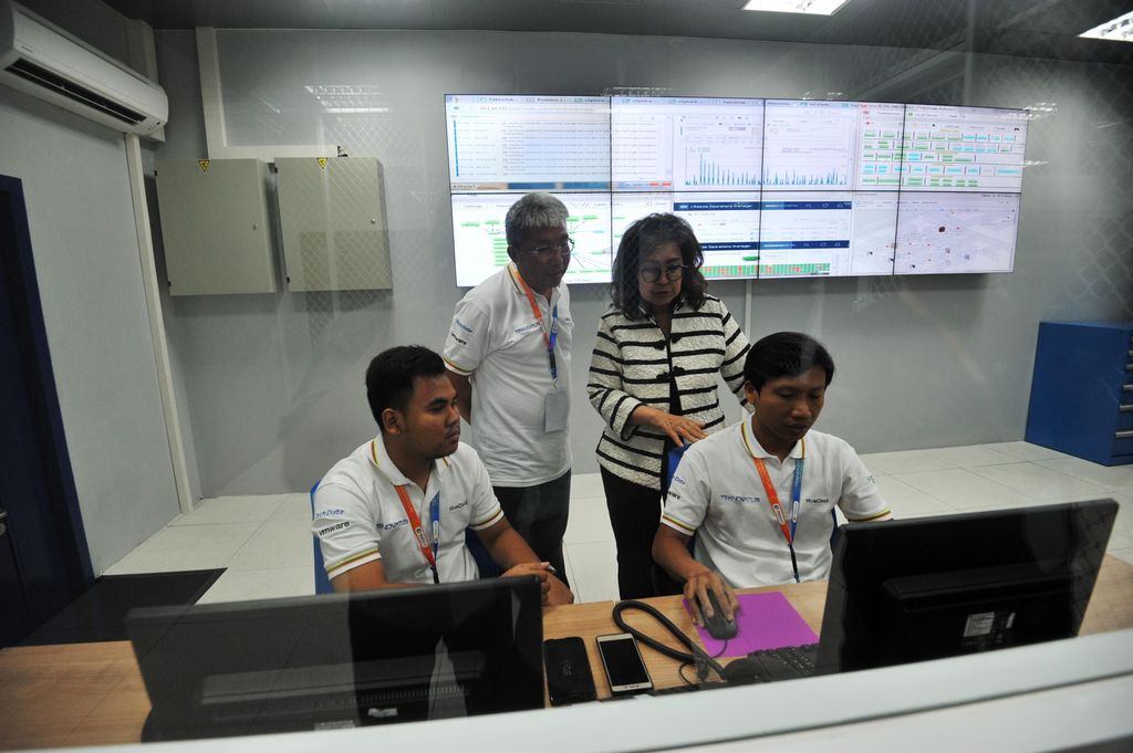 Data Center Teknovatus berlokasi di Bumi Serpong Damai (BSD), Tangerang Selatan.