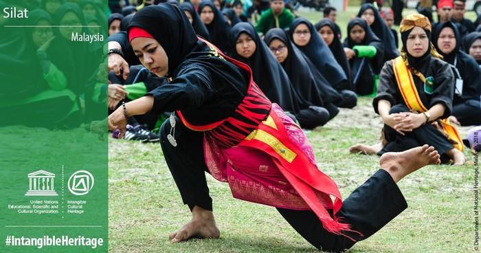 Silat Malaysia (Twitter UNESCO/Dept of National Heritage Malaysia)