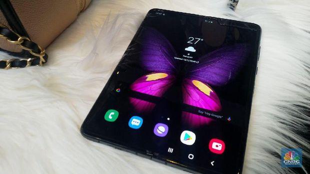 Bosnya Klaim Jual 1 Juta Ponsel Galaxy Fold, Samsung Bantah