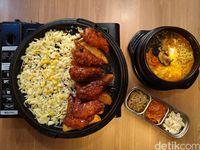 Kim's K-Food : Gurih Mulur Cheese Rolling Chiken Khas Korea