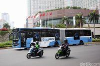 Ilustrasi kendaraan umum