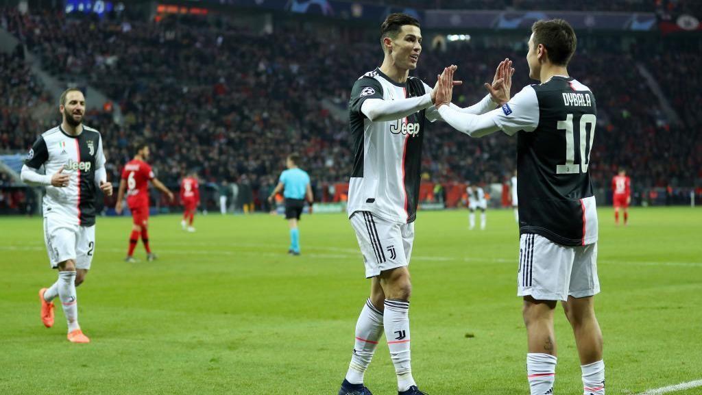 Ronaldo Begitu Menikmati Main Bareng Higuain dan Dybala