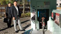 Canggihnya Parkiran Sepeda Bawah Tanah di Jepang