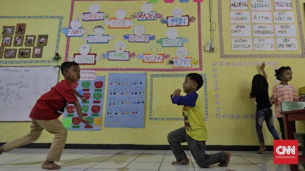 PAUD MelonJagakarsa di Tengah Kepungan Pendidikan Dini Biaya