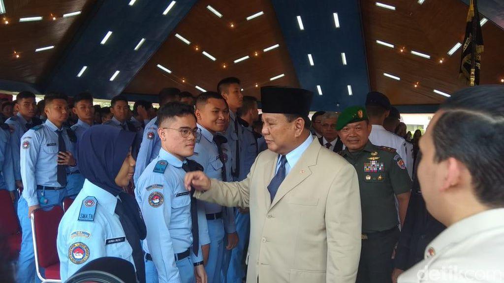 Cerita Prabowo Tunjuk Tono Suratman Jadi Kepala SMA TN Magelang