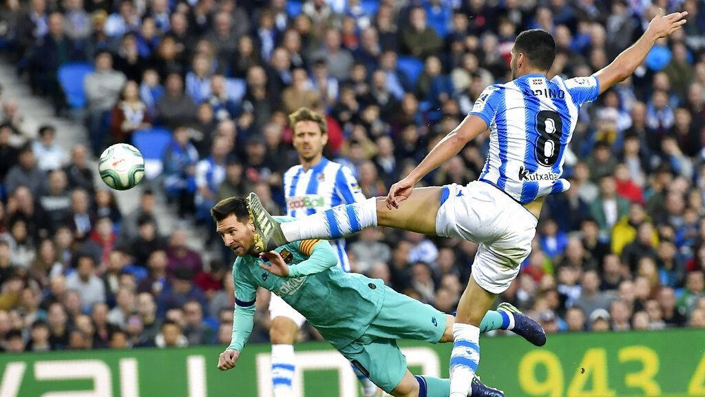 Real Sociedad Vs Barcelona Berakhir Seri 2-2