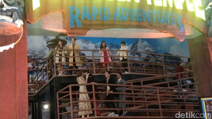 Foto: Cita Citata di HUT ke-18 Transmedia di Trans Studio Mall Bali. (Riza-detikcom)