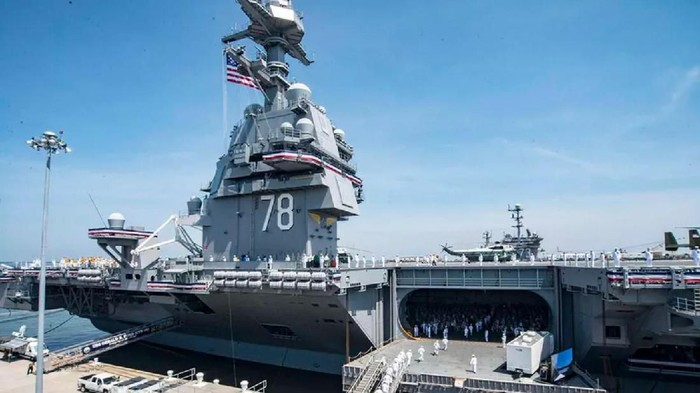 USS Gerald R. Ford, Kapal Induk AS Pembunuh Kelas Wahid