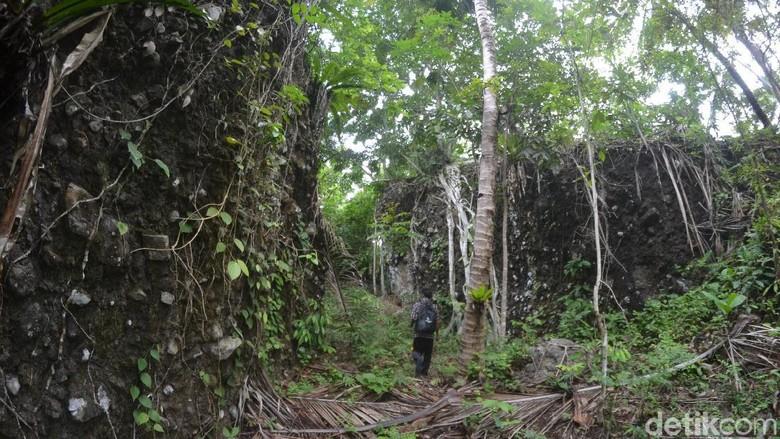 Situs Kandang Munding di Pangandaran (Faizal Amiruddin/detikcom)
