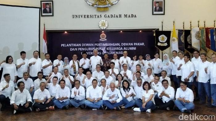 Pelantikan Pengurus dan Dewan Kagama. Foto: Usman Hadi-detikcom.