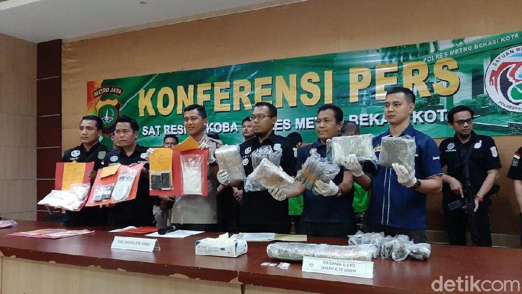 Polisi Tangkap Pengedar Narkoba di Bekasi, Akan Diedarkan saat Tahun Baru