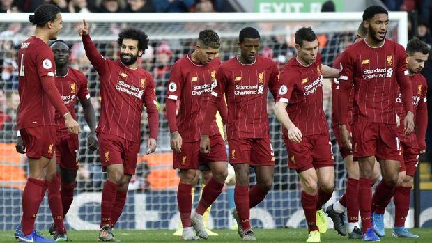 Mohamed Salah menjadi penentu kemenangan Liverpool atas Watford.