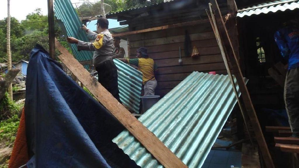 Diterjang Angin Kencang, 156 Rumah Warga di Kepri Rusak