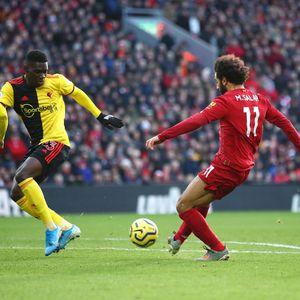 Gol Salah Bawa Liverpool Ungguli Watford di Babak I