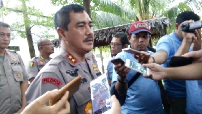 Kapolda Sumut Irjen Agus Andrianto menyatakan pembunuhan hakim PN Medan Jamaluddin dilakukan secara terencana. (Ahmad Arfah Fansuri Lubis/detikcom)