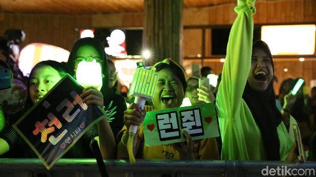 fans NCT Dream histeris